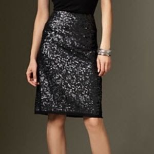 NWT | Talbots | Sequin Pencil Skirt